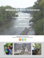 Cover of the Milwaukee River Greenway Master Plan